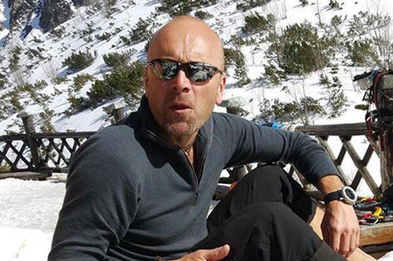 Himalaista Rafał Fronia szybko zakończył rozmowę z TVP Info.