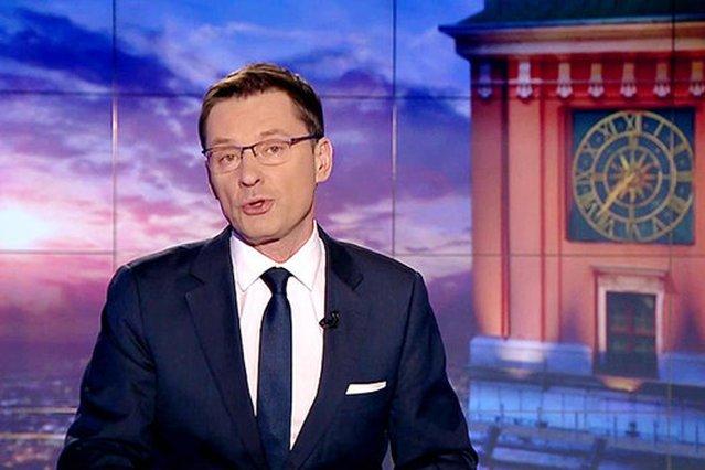 """Krzysztof Ziemiec, komentując zatrzymania CBA popełnił """"drobny"""" błąd."""