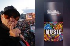 Jerzy Owsiak pokazał perfumy Pol'and'Rock Festival.