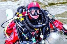 Marcel Korkuś trafił na listę rekordów Guinessa po tym, tak zanurkował w najwyżej położonym zbiorniku wodnym na świecie.