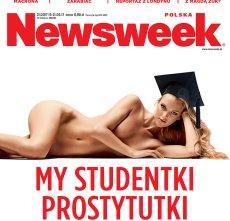 """Nawet 20 proc. studentów utrzymuje się z seksu za pieniądze - czytamy w najnowszym """"Newsweek Polska"""""""