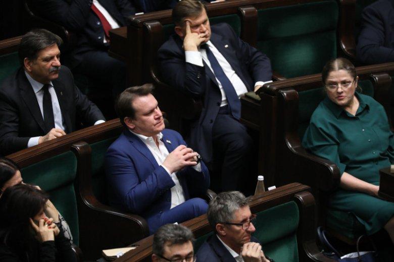 Dominik Tarczyński to jeden z trzech ukaranych posłów.