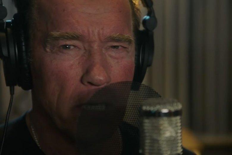 Arnold Schwarzenegger nagrał piosenkę motywacyjną.