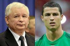 """Cristiano Ronaldo i prezes PiS Jarosław Kaczyński znaleźli się w raporcie """"Przekleństwa w internecie"""""""