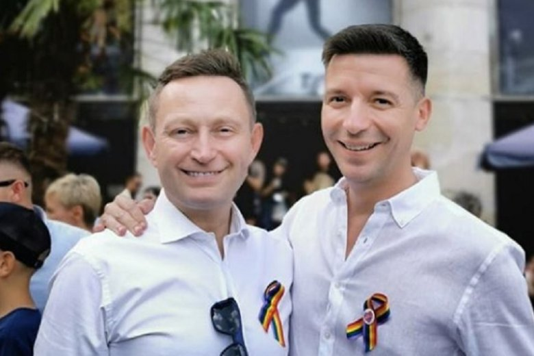Paweł Rabiej i Michał Cessanis chętnie dzielą się zdjęciami na Instagramie.