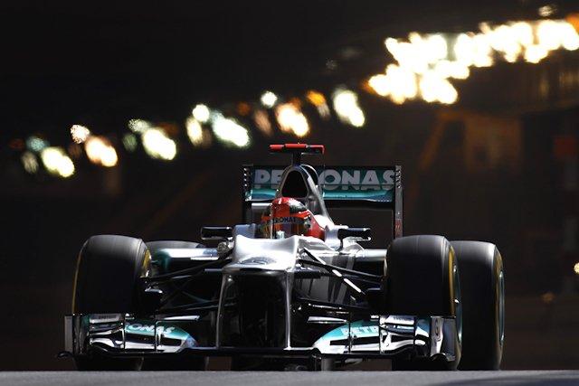 Michael Schumacher przypomniał o sobie najlepszym czasem. Gdyby nie ta kara...