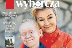 """Martyna Wojciechowska pokazała się na okładce """"Gazety Wyborczej"""" wraz ze swoją adoptowaną córką Kabulą."""
