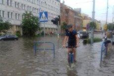 Centrum Gdańska zostało zalane.