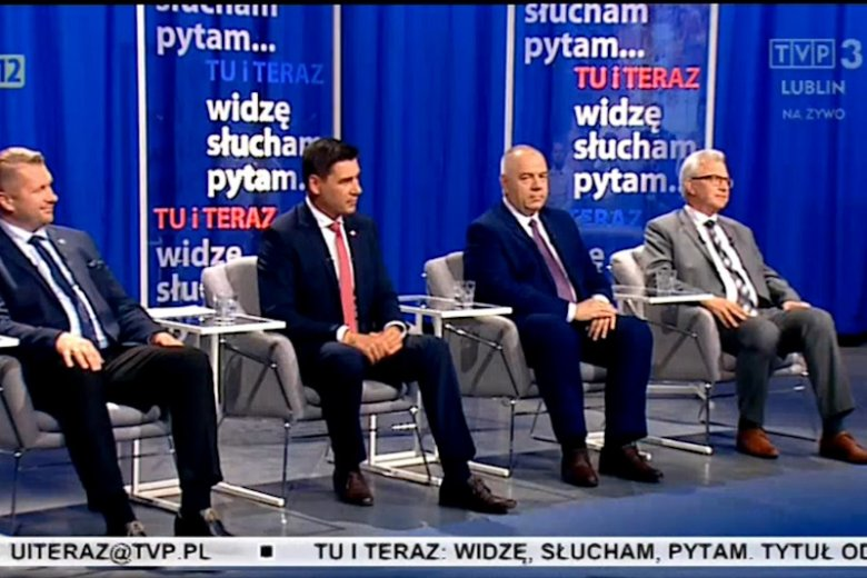 W TVP 3 Lublin urządzono debatę o rządach PiS. Zaproszono do niej tylko kandydatów PiS w wyborach.