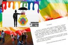 Proboszczowi z Radomska nie podoba się to, że pod jego kościołem ma być zorganizowana pikieta przeciwko marszowi LGBT