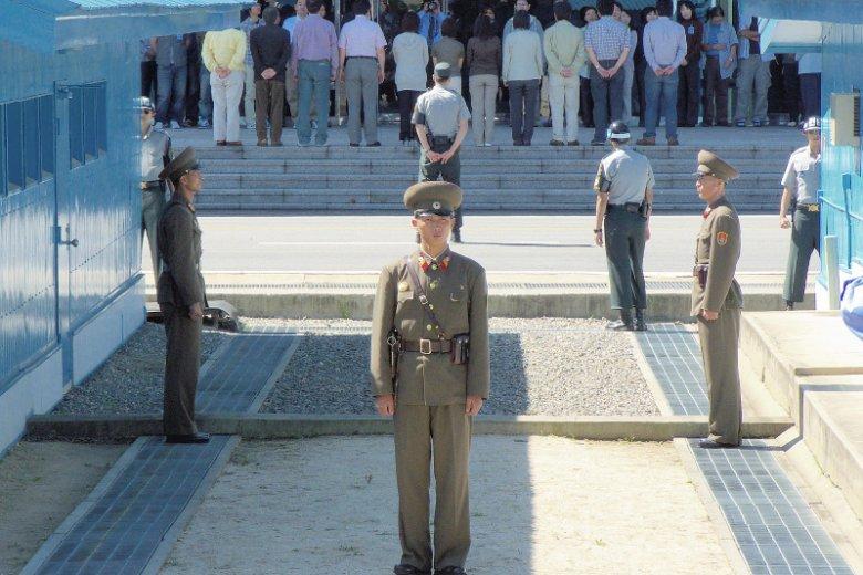 Strefa Zdemilitaryzowana między Koreą Północną i Południową – Panmundżom.