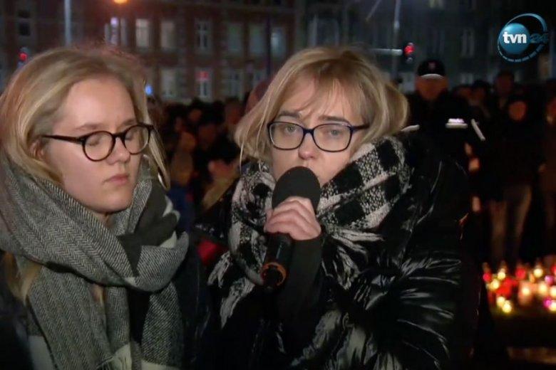 Poruszające przemówienie żony i córki Pawła Adamowicza.