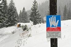 W Tatrach panują bardzo trudne warunki pogodowe.
