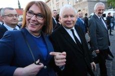 Jarosław Kaczyński przekazał podziękowania za sprawą rzeczniczki Beaty Mazurek.