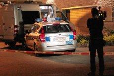 Policja zabezpiecza ślady w garażu generała Petelickiego