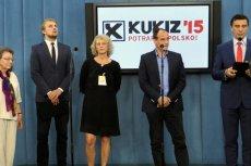 Kukiz 15' wyprzedza Nowoczesnąw sondażu poparcia.