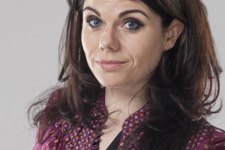 Caitlin Moran, brytyjska dziennikarka, której druga książka właśnie ukazała się w Polsce.