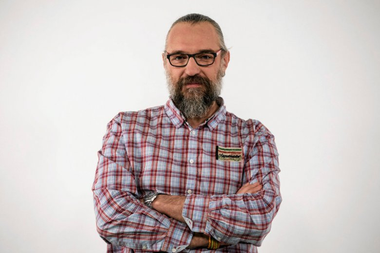 Mateusz Kijowski, lider KOD.