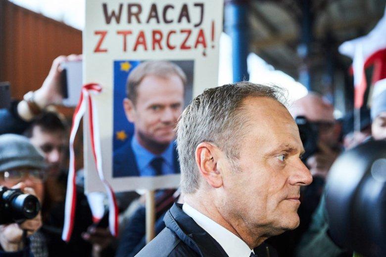 Donald Tusk żegnany w Sopocie.