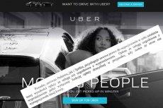 """Kierowcy Ubera będą oszukiwać państwo? Teoretycznie muszą mieć licencję, ale """"prawnicy im pomogą"""", czyli zagłębiamy się w umowę kierowca-spółka"""