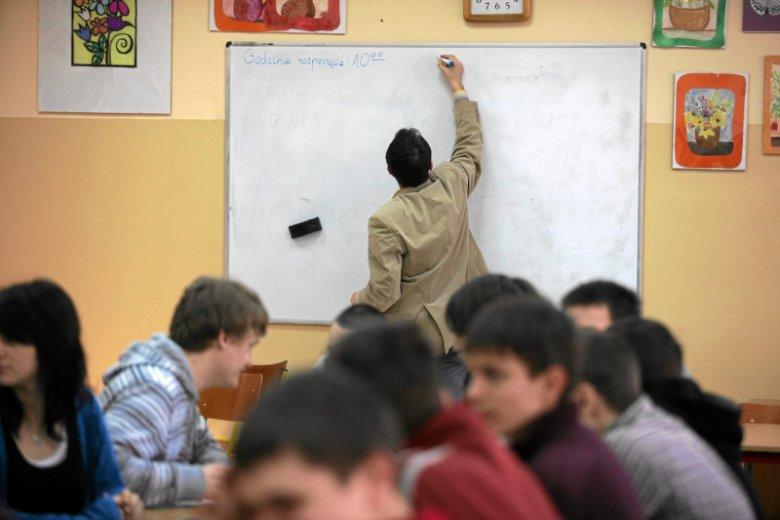 Nauczyciele również borykają się ze skutkami reformy edukacji.
