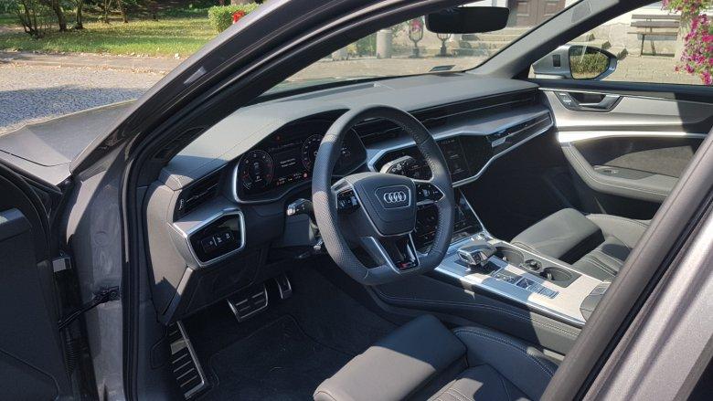 Wysoka jakość materiałów to znak rozpoznawczy Audi  A6.