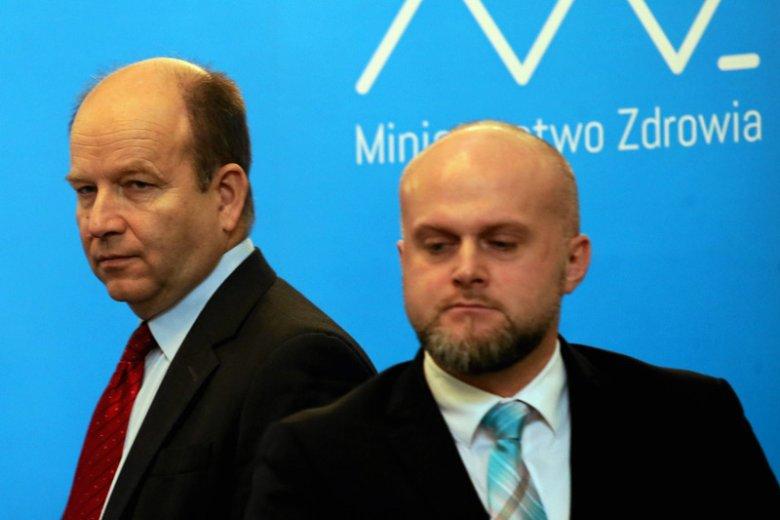 Wiceminister zdrowia Krzysztof Łanda podał się do dymisji.