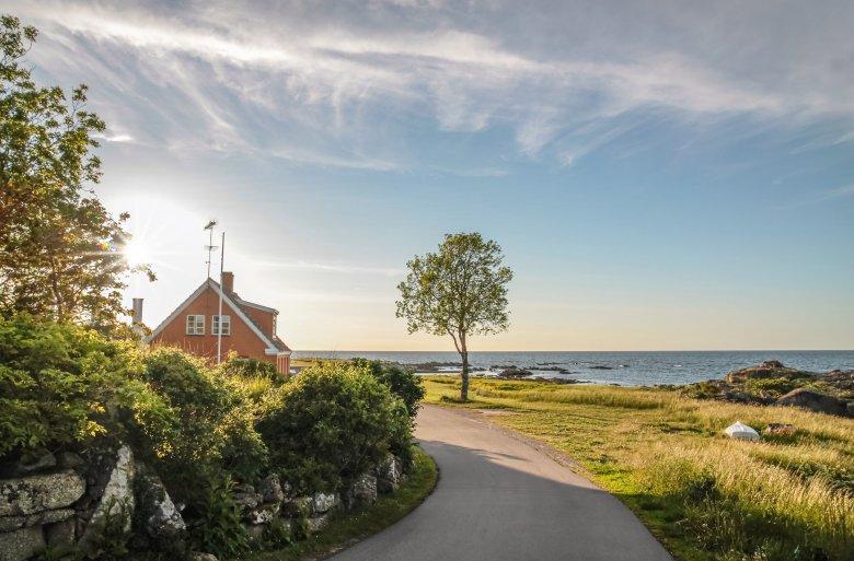 Na Bornholmie jest ok. 235 km tras rowerowych.