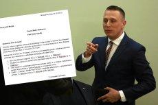 """Krzysztof Brejza bawi się z KPRM w """"głuchy telefon""""."""