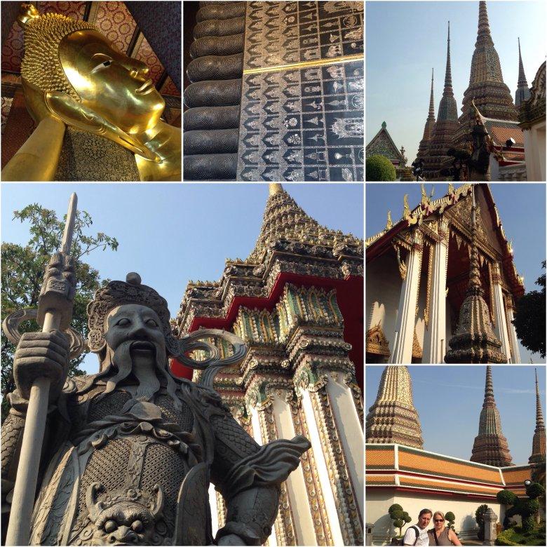Wat Pho. Bangkok/Tajlandia