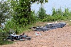 Makabryczne odkrycie w rzece Kamienna. Zdjęcie ilustracyjne.