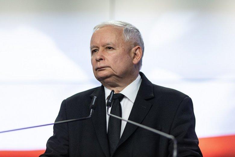 """Jarosław Kaczyński w liście do Klubów Gazety Polskiej wspomniał o konieczności obrony """"dobrej zmiany""""."""