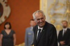 Prezydent Czech, Miloš Zeman, również dał niezły popis na szczycie NATO