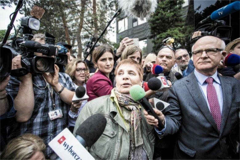 Janina Ochojska skomentowała decyzję protestujących w Sejmie osób niepełnosprawnych i ich opiekunów dotyczącą zawieszenia protestu.