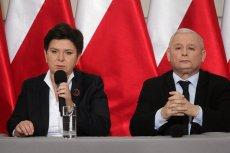 W konferencji wzięliudział premier Beata Szydło i prezes PiS Jarosław Kaczyński.