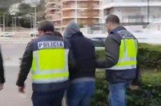 Hiszpańska policja ujawniła nagranie z zatrzymania Marka Falenty.