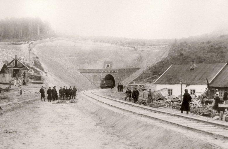 tunel pod Miechowem 1884 r.