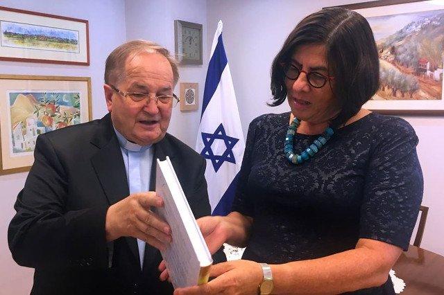 O. Rydzyk gościem ambasady Izraela.