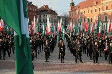 """Reportaż """"Superwizjera"""" rzuca nowe światło na polskich neonazistów. Na zdjęciu poglądowym manifestacja ONR."""