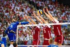 Kadr z meczu Polska – Francja.