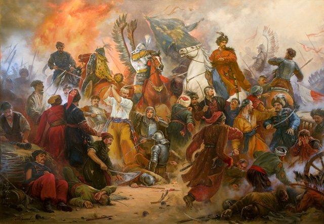 Bitwa pod Beresteczkiem (1651), największa bitwa w czasie powstania Chmielnickiego.