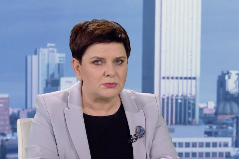 W TVP zapytano Beatę Szydło o broszkę na wybory.