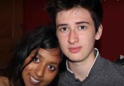 Jamie ze swoją dziewczyną Shaabą.