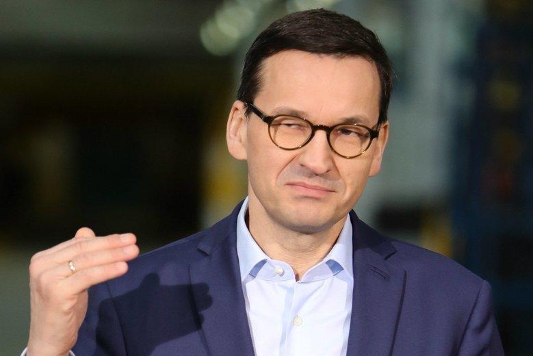 """Poważna wpadka premiera Mateusza Morawieckiego. """"Wymyślił"""" dzielnicę w Katowicach, skąd startuje w wyborach z listy PiS."""