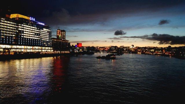 Widok z Blackfriars Bridge, Londyn