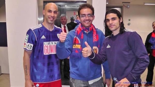 Marlon z Rubenem i Alvaro Jurado.