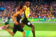 Usain Bolt na luzie i z uśmiechem na ustach wygrał półfinałowy bieg na 200 metrów.