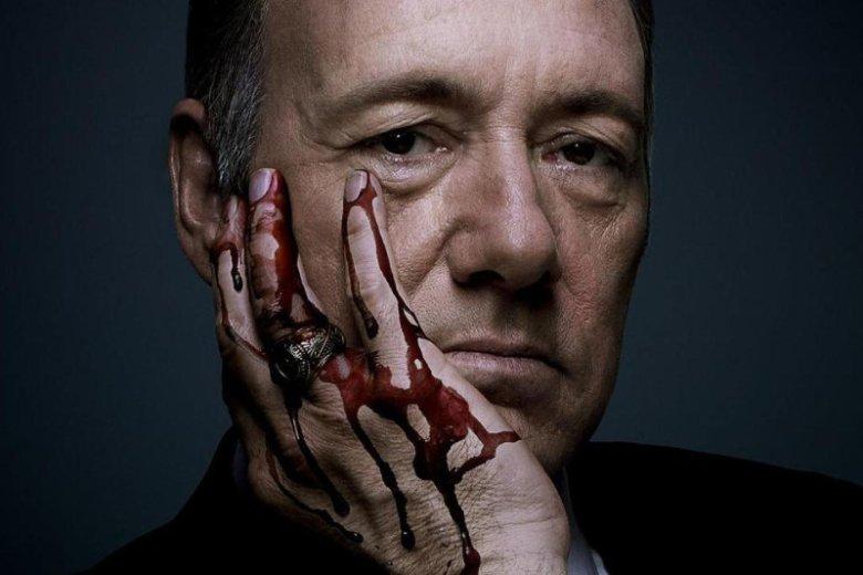 Mroczny Frank Underwood zyskał wielu sympatyków. Mroczny Kevin Spacey tylko odpycha.