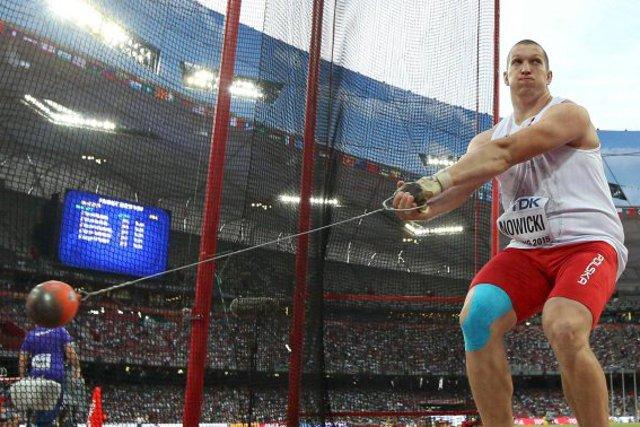 Wojciech Nowicki, brązowy medal w Amsterdamie