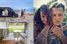 Jakub Tolak i jego partnerka Zosia przerobili vana na kampera. Mieszkając w nim, podróżują po całej Europie